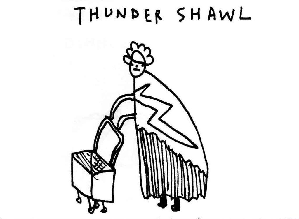thunder shawl